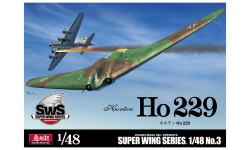 Ho 229 Horten - ZOUKEI-MURA Super Wing Series 1/48 No. 3