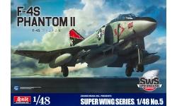 F-4S McDonnell Douglas, Phantom II - ZOUKEI-MURA Super Wing Series 1/48 No. 5