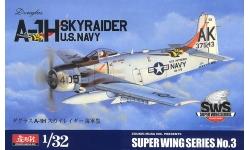 A-1H (AD-6) Douglas, Skyraider - ZOUKEI-MURA Super Wing Series 1/32 No. 3