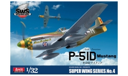 P-51D North American, Mustang - ZOUKEI-MURA Super Wing Series 1/32 No. 4