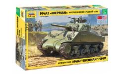 M4A2, Sherman - ЗВЕЗДА 3702 1/35
