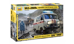 УАЗ-3909 - ЗВЕЗДА 43002 1/43