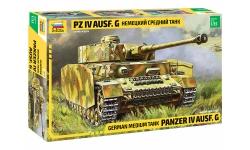 Panzerkampfwagen IV, Sd.Kfz.161/1, Ausf. G, T-IV, Krupp - ЗВЕЗДА 3674 1/35