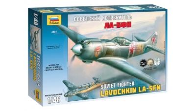 Ла-5ФН Лавочкин - ЗВЕЗДА 4801 1/48