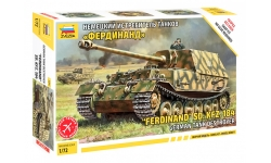 Panzerjäger Tiger (P), Sd. Kfz. 184, Ferdinand - ЗВЕЗДА 5041 1/72