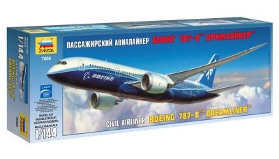 Boeing 787-8, Dreamliner - ЗВЕЗДА 7008 1/144