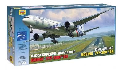 Boeing 777-300ER - ЗВЕЗДА 7012 1/144