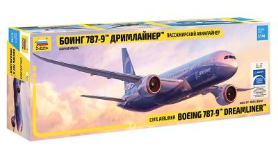 Boeing 787-9, Dreamliner - ЗВЕЗДА 7021 1/144