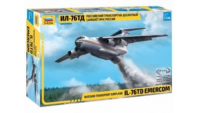 Ил-76ТД Ильюшин - ЗВЕЗДА 7029 1/144