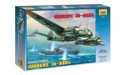 Ju 88A-4 Junkers - ЗВЕЗДА 7282 1/72