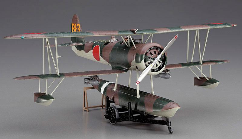 E8N1 Nakajima Model 11 - HASEGAWA 19197 JT97 1/48